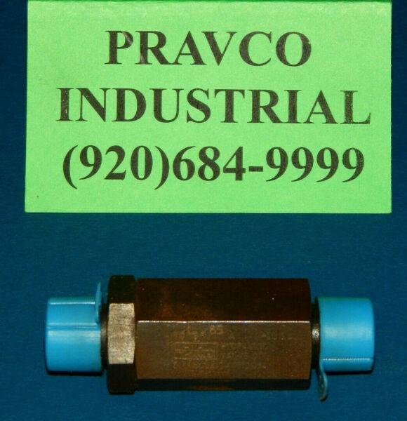 Parker VC-8F-A  Hydraulic Check Valve 3000PSI Maximum 8GPM VC8FA