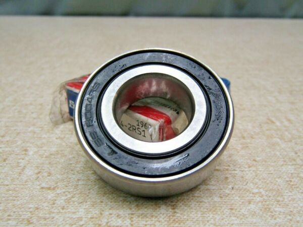 SKF W6004 - 2RS 20mmX 42mmX 12mm Sealed Solid - Oil Filled Bearing