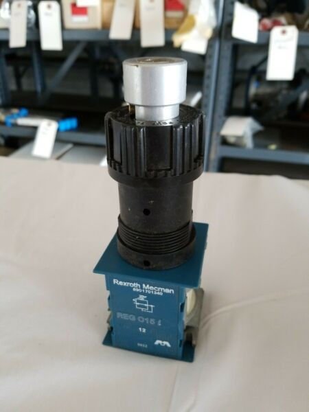 8901701340 Rexroth Mecman REG C15 i Lockable Pneumatic Switch - 11 Available NEW