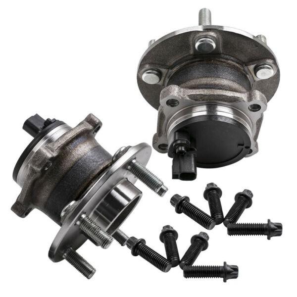 2x For Ford Focus MK II 2004-16 1.4 1.6 1.8 2.0 TDCI Rear Wheel Bearing HUB KIT