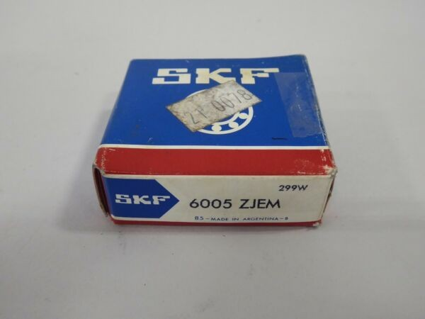 SKF 6005 ZJEM Deep Groove Ball Bearing