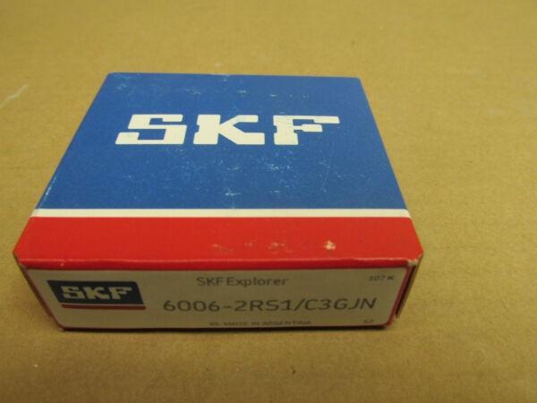 NIB SKF 60062RS1C3 BEARING RUBBER SEALED 60062RS 6006 2RS1 C3 GJN 30x55x13 mm