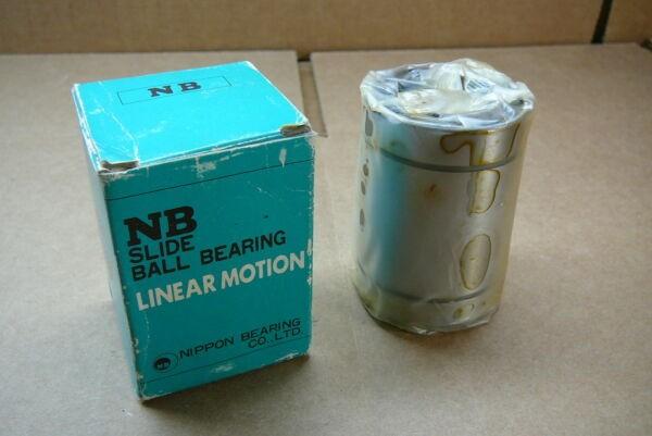 UU-SM-30G Nippon Linear Motion NEW In Box Ball Bushing Bearing UUSM30G