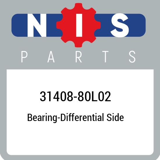 31408-80L02 Nissan Bearing-differential side 3140880L02, New Genuine OEM Part