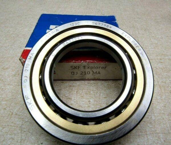 SKF QJ 210 MA 4 Point Contact Bearing 50mm x 90mm x 20mm