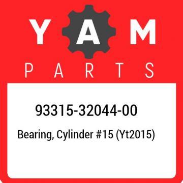 93315-32044-00 Yamaha Bearing, cylinder #15 (yt2015) 933153204400, New Genuine O