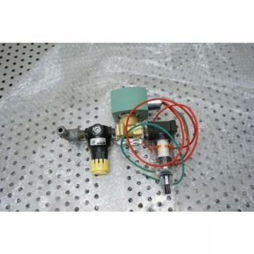 Asco Red Hat Valve 8262G212 Solenoid Parker pneumatic filter 14R113FC 14F11BB