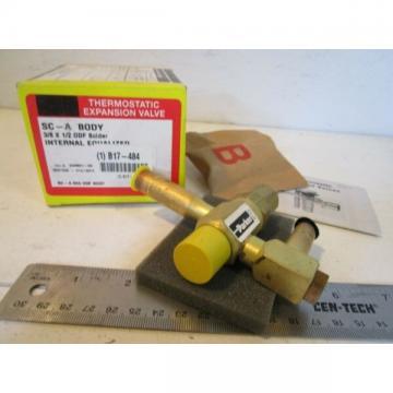 """Parker 040501-02 Thermostatic Expansion Valve, 3/8"""" x 1/2"""" ODF SC-A Body"""