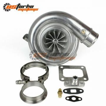Universal Performance T72R Billet Wheel Dual Ball Bearing Turbo T4 .68 A/R Qtrim
