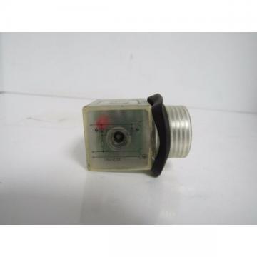 REXROTH P-026078-00001 DIN SOLENOID 1/2 CONDULT CONN. (LIGHTED) MISSING BOLT