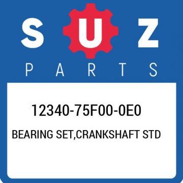 12340-75F00-0E0 Suzuki Bearing set,crankshaft std 1234075F000E0, New Genuine OEM