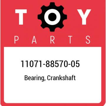 11071-88570-05 Toyota Bearing, crankshaft 110718857005, New Genuine OEM Part