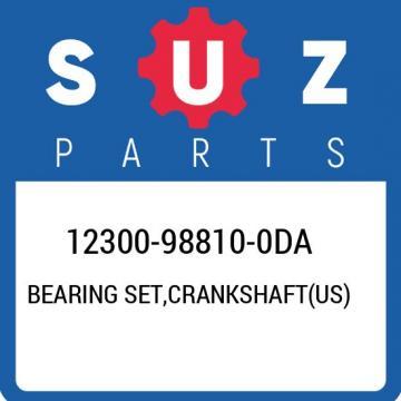 12300-98810-0DA Suzuki Bearing set,crankshaft(us) 12300988100DA, New Genuine OEM