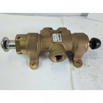 Parker M05462448 manual air control valve 3-way - max pressure 150psig - New
