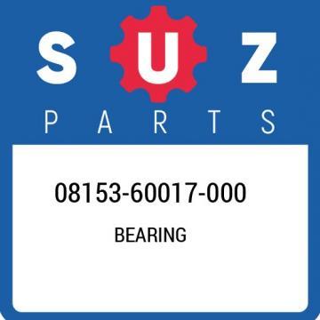 08153-60017-000 Suzuki Bearing 0815360017000, New Genuine OEM Part